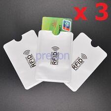 3 pz Custodia protettiva porta nuova carta identità elettronica RFID UOMO DONNA