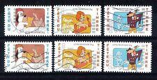 France_2008 et 2009_fête du timbre_ timbres AA oblitérés curieux