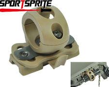 "Lámpara Linterna de liberación rápida 1"" 25.4 montaje ajuste casco carril Nitecore Streamlight"