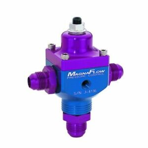 Magnafuel MP-9833-B Fuel Pressure Regulator w/Boost Control 4-12 psi Blue NEW