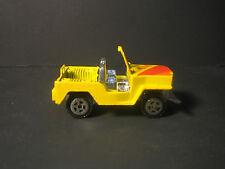 Diecast Yellow 4 x 4 Jeep