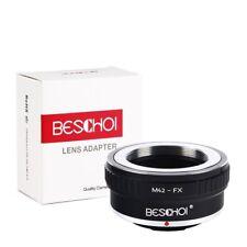 Beschoi M42-FX Lens Adapter Ring M42 42mm Lens to Fujifilm FX X-Series Camera