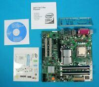 Intel DG965SS Motherboard Intel Pentium Dual Core CPU 1GB DDR2 I/O *READ*