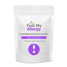 Test My Allergy - Grassi E Olio Cibo Intolleranza Test Kit