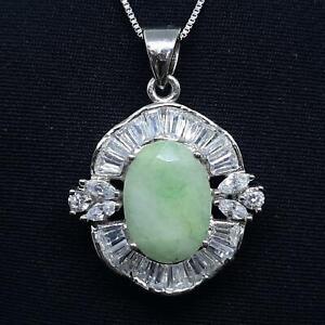 World Class 8.90ctw Colombian Emerald & Diamond Cut White Sapphire 925 Pendant