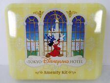 Tokyo Disneyland Hotel Amenity Kit - Items and Tin Brand New Items New Old Stock