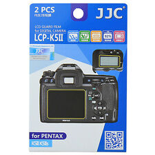 2x Film Protection Ecran LCD H3 pour Appareil Photo Pentax K5II K5IIS