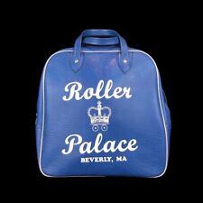 Vintage Roller Palace Beverly Mass Rollerskate Bag Blue