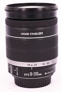 CANON EF-S 18-200mm f/3.5-5.6 IS Professionally tested