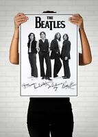 The Beatles Autographed Poster Print. A3 A2 A1