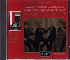 MOZART- BEETHOVEN | AMADEUS QUARTETT | CD-Album,  gebraucht