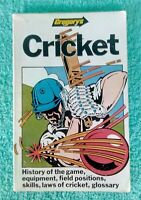 Gregorys Cricket Book - Vintage 1983 Cricket Book