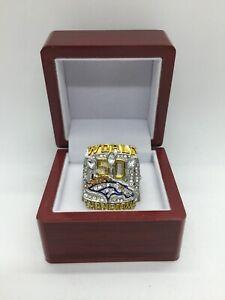 2015 Denver Broncos Peyton Manning Super Bowl Championship Ring Set with Box