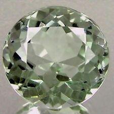 10 Mm Round-Aspecto Natural Brasileño de color verde claro con Amatista £ 1! sin precio de reserva!