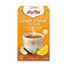 💚 Yogi Tea Organic Ginger Orange with Vanilla Herbal Tea 17bag