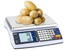 Balance poids-prix sans ticket pour marché XFOC 15/30kg - 5/10g