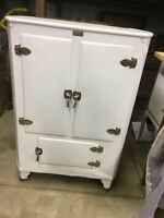Antique Copeland Metal Ice Box