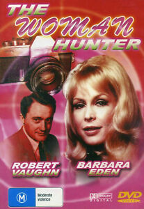 The Woman Hunter DVD 1972 Barbara Eden Movie Robert Vaughn - LIKE NEW