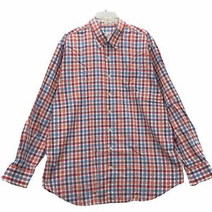 Peter Millar Men's Long Sleeve Dress Shirt Size XL Extra Large Cotton Colorful