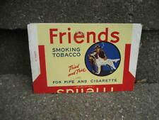 Vintage Friends Smoking Tobacco Packaging Wrapper