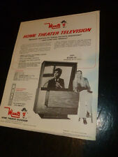 Madman Earl Muntz TV Television Dick Clark 1977 Brochure Flyer VCR Big Screen