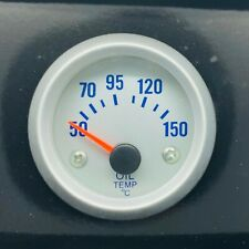 """52MM 2"""" Oil Temperature Gauge 8-16V For Car Truck Motorcycle Boat Universal"""