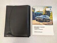 GENUINE BMW 3 SERIES TOURING F31 HANDBOOK OWNERS MANUAL 2012-2017 WALLET M-488