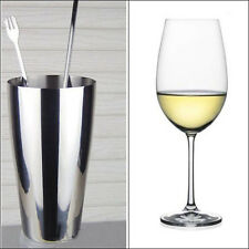 Stainless Steel Shake Mixing Cup Flair Bartending Cocktail Shaker Drink Mixer