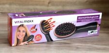 Brosse coiffante air chaud 1000W en or rose de VITALMAXX