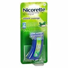 Nicorette Nicotine Polacrilex Mini Lozenges Mint 20 Eac