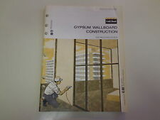 Gold Bond Gypsum Wallboard Catalog 1969 Asbestos Litigation Mesothelioma