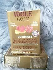 3x Idole whitening Exfoliating Soap With Gold  powder 💯 ORIGINAL