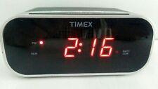 TIMEX Digital Alarm Clock LED Red Display Battery Backup FREE SHIPPING