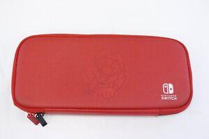 Nintendo Switch Super Mario Bowser Red Black Soft Case