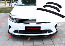 3PCS ABS Car Front Bumper Lower Guard Trim Fit For Kia Forte 2018-2020