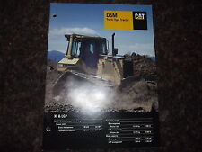 CAT CATERPILLAR D5M CRAWLER TRACTOR DOZER SPECIFICATIONS BROCHURE BOOK MANUAL