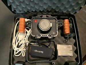 Blackmagic Production 4k Camera Bundle including Lens!!