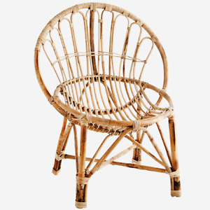 Natural Bamboo Chair by Madam Stoltz