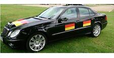 Deutschland Auto Fanfolie Set 90x60cm WM EM Fanartikel Fussball Fahne Fan Flagge
