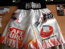 MANNY PACQUIAO Signed Replica (ERIC MORALES) Fight Night Worn Trunks/Shorts