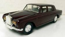 ELIGOR 1:43 AUTO DIE CAST ROLLS ROYCE BERLINE SILVER SHADOW MARRON 1975 ART 1047