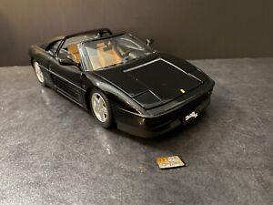 """FERRARI 348TS Black Elite Edition 1/18 Hotwheels X5481 """" Damage READ"""""""