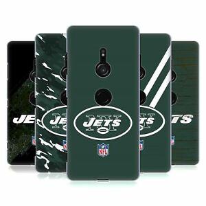 OFFICIAL NFL NEW YORK JETS LOGO HARD BACK CASE FOR SONY PHONES 1