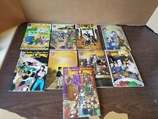 Lot Of 9 Bundle Of Trouble Comics 1 12 14-17 19 21 23 Knights Dinner Table