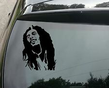 Bob Marley Silhouette Funny Car/Bumper JDM VW EURO Vinyl Decal Sticker 210mm