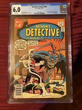 Detective Comics #468 Batman CGC 6.0