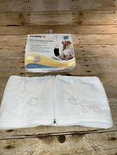 Medela Easy Expression Bustier Hands-Free Pumping Bra, White, Sz Small