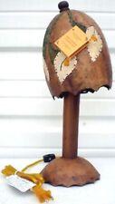 Bamboo Totumo Table Lamp Ayale Calabash Fruit Handmade Designer Cala Flowers B