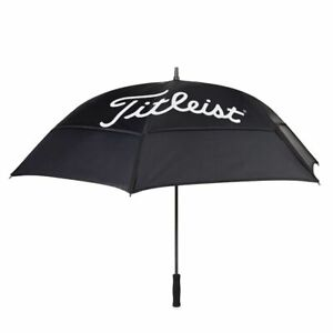 """Titleist Golf 2020 Players Duble Canopy 68"""" Umbrella Color: Black with White"""