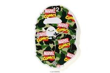 AUTHENTIC A BATHING APE BAPE x MARVEL CAMO WALL CLOCKS NEW RARE